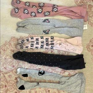 5 Pairs H&M Girls Tights/Stockings